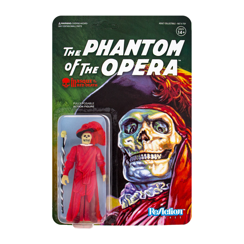Universal Monsters ReAction Series : The Masque of the Red Death