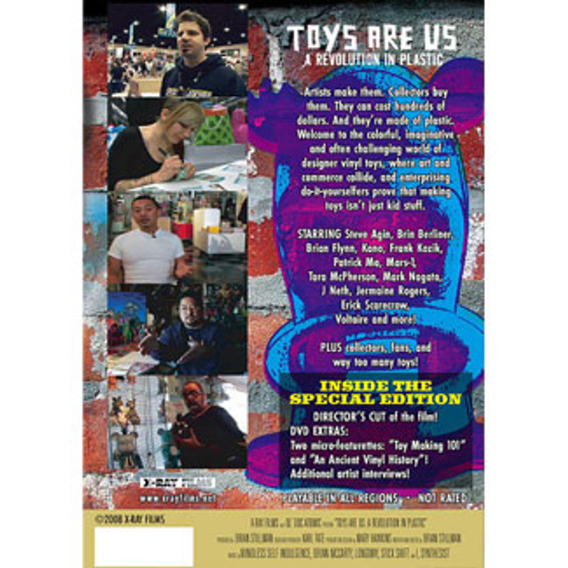 Toys Are Us : A Revolution in Plastic DVD Director's Cut