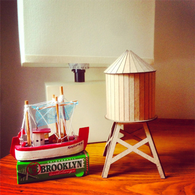 Model Water Tower Kit: Small