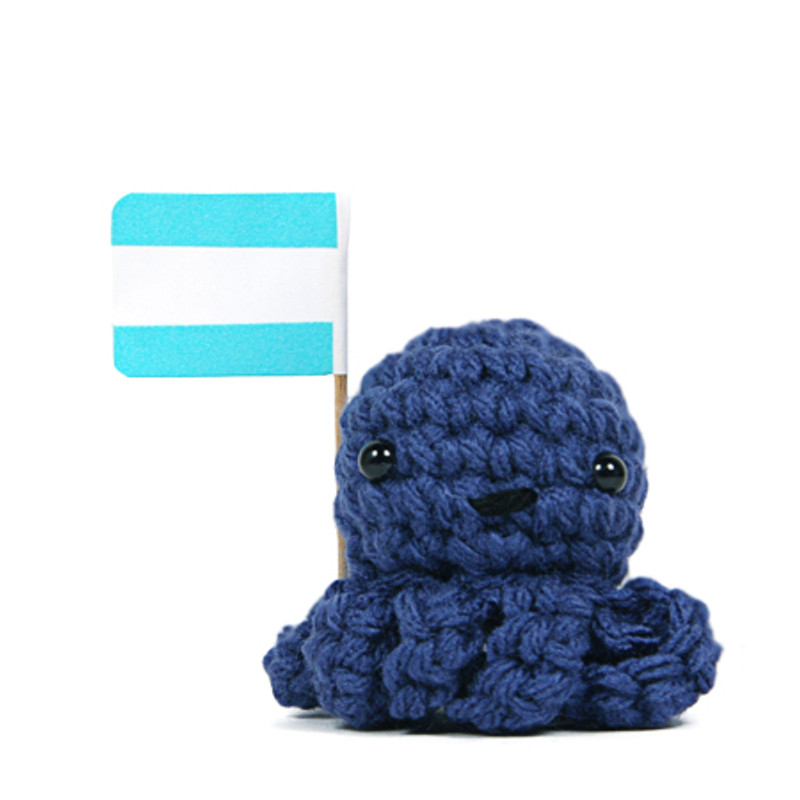 Message Octopus : Blue