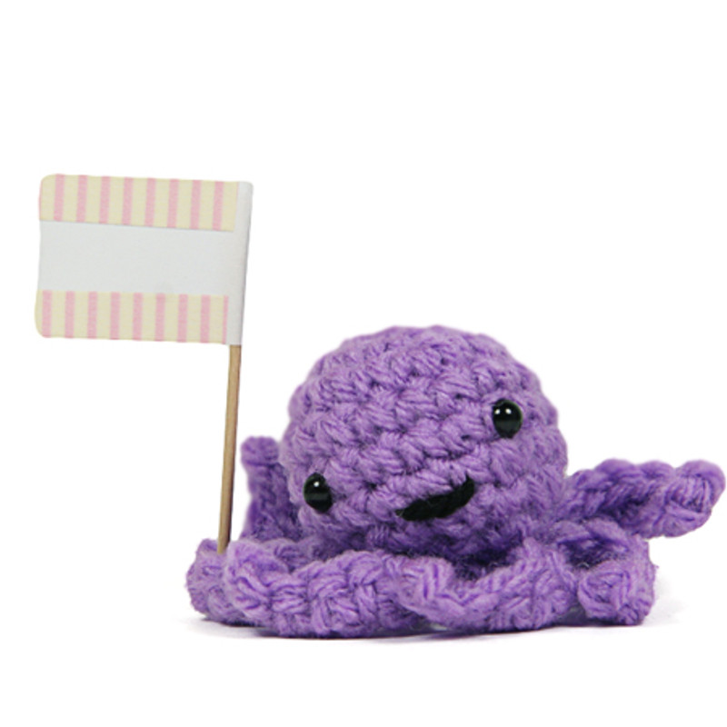 Message Octopus : Purple