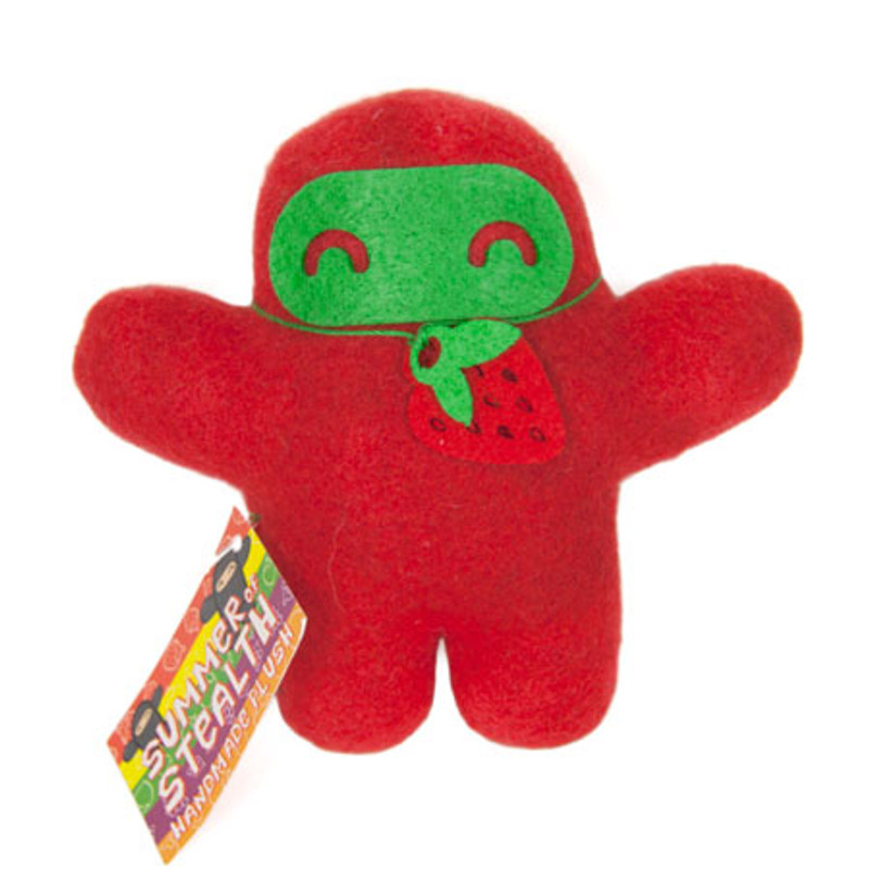 Summer of Stealth Plush Ninja : Strawberry