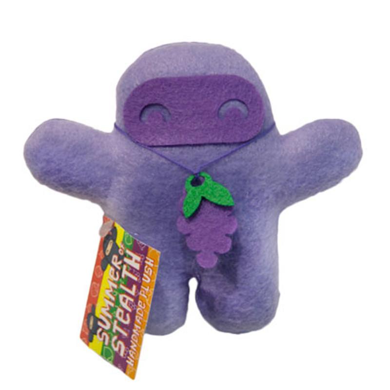 Summer of Stealth Plush Ninja : Grape