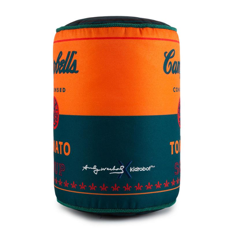 Andy Warhol Medium Plush : Soup Can