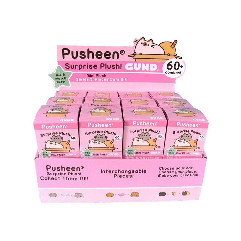 Pusheen Places Cats Sit! Series : Case of 24