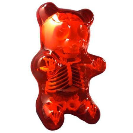 Gummi Bear Anatomy : Red - myplasticheart