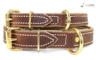 Soft Hide Leather Collar 3/4""