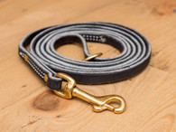 Premium Leather Leash 1/2""