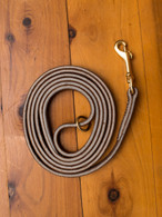 Soft Hide Leather Leash 3/8""