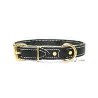 Premium Leather Collar 3/4""
