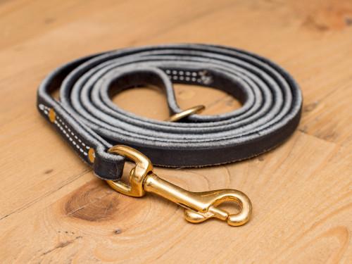 """Premium Leather Leash 1/2"""""""