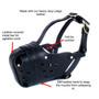 Leather Muzzle Redline K9