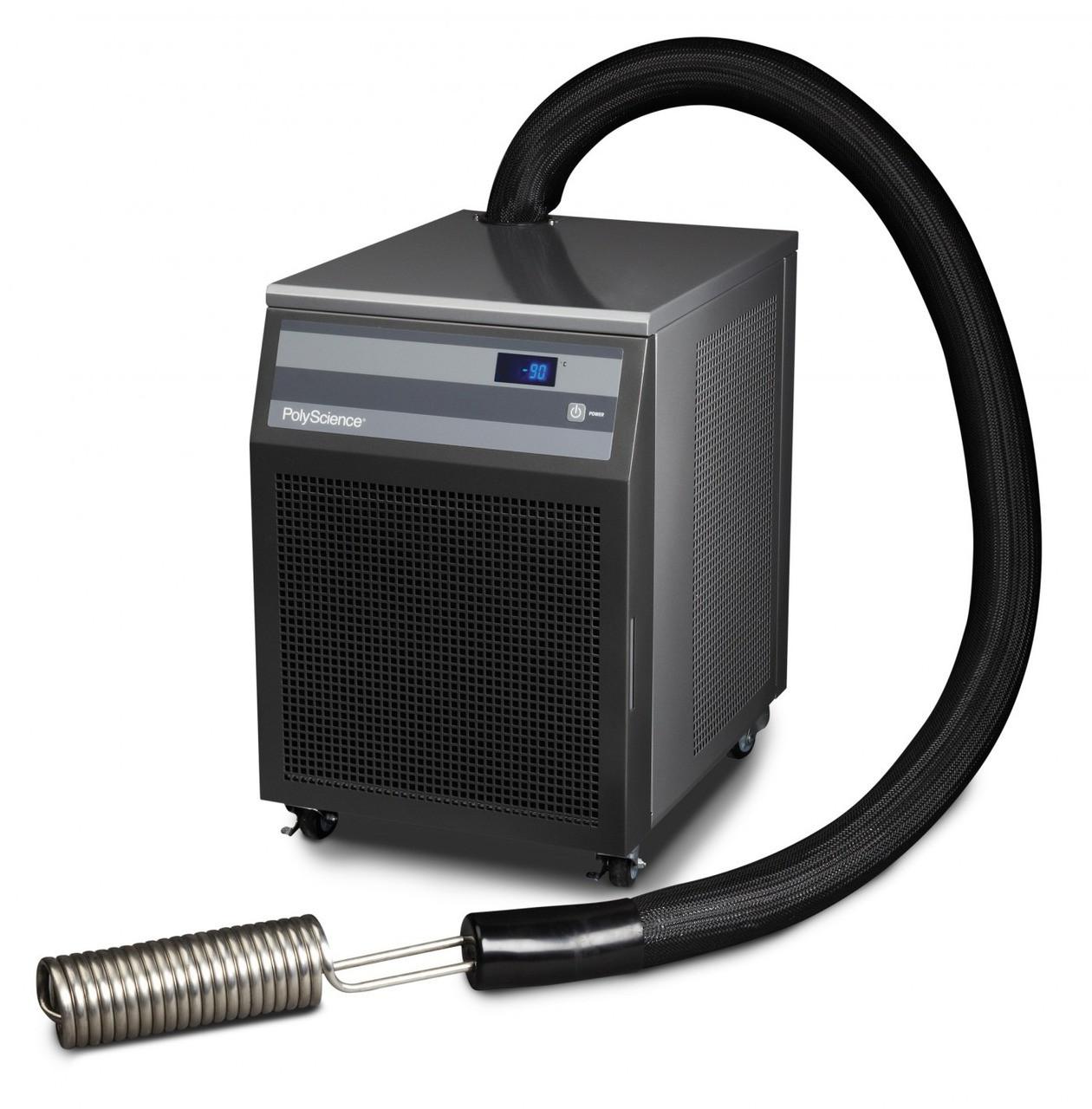 "Polyscience IP-100 Low Temperature Cooler, 3"" Rigid Coil Probe"