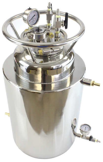 Double Jacketed Stainless Steel LP Tank