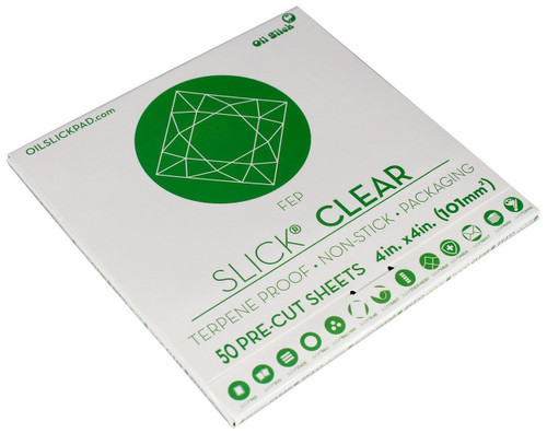 Oil Slick® Clear FEP Sheets - 50 Pack