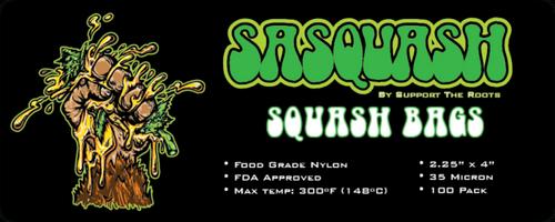 "2.25 "" x 4"" Squash Bags (100 Pack)"