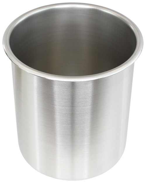 1.5 Gallon Tall Stainless Steel - (Pot Only)