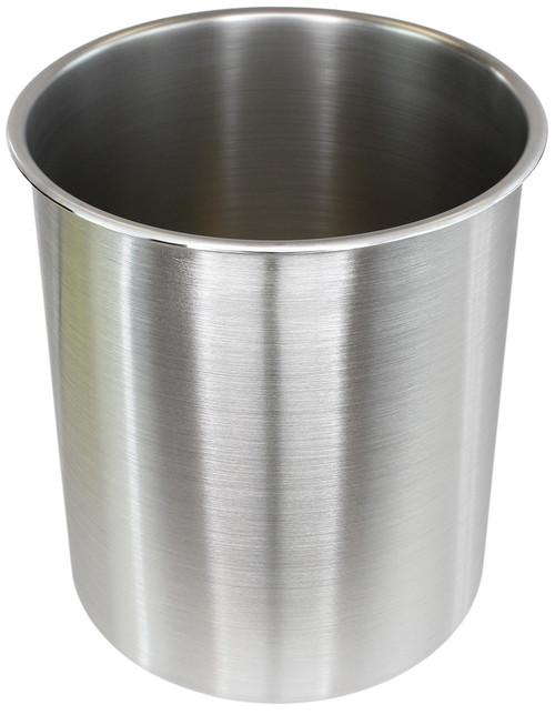 3 Gallon Tall Stainless Steel SIDEMOUNT - (Pot Only)