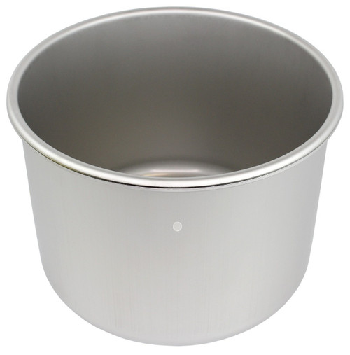 3 Gallon WIDE Stainless Steel (SIDEMOUNT)  - (Pot Only)