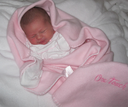 Soft Fleece One Touch Baby Blanket