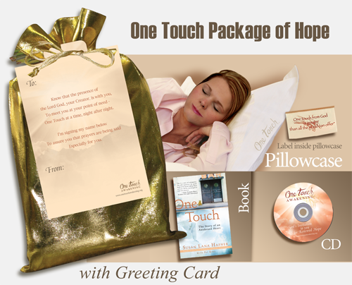Monogrammed One Touch Package of Hope