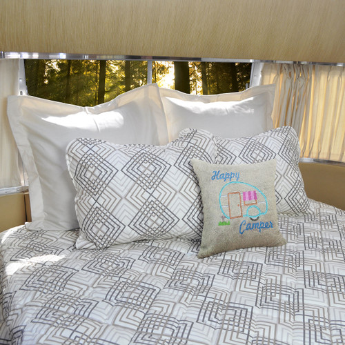 Diamonds 3 Piece Bedspread Set For Airstream®