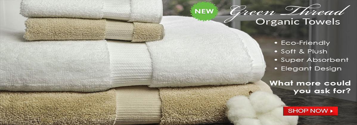Green Thread Organic Eco Friendly Towels