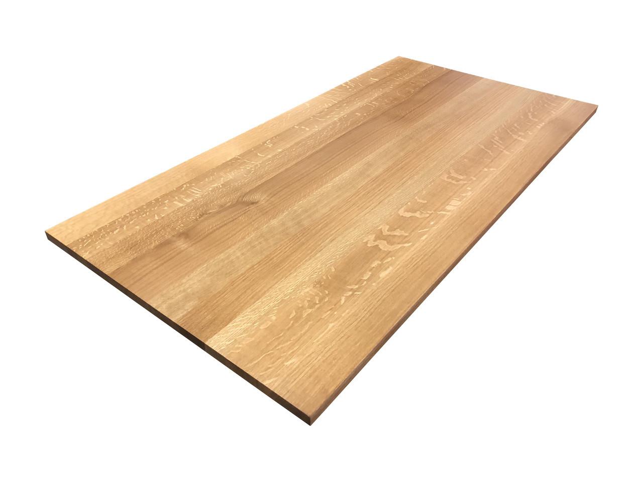 quartersawn white oak desk top customize order online. Black Bedroom Furniture Sets. Home Design Ideas