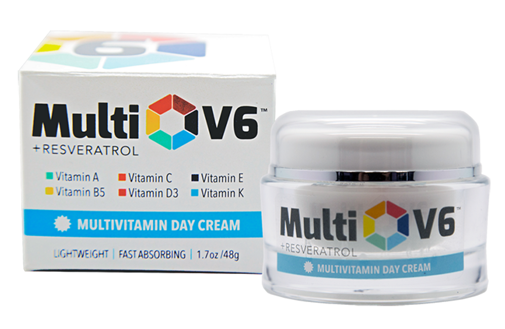 MultiV6 Day Cream offers all-day hydration and defense against the elements. Six vitamins work to deliver healthy skin nourishment.