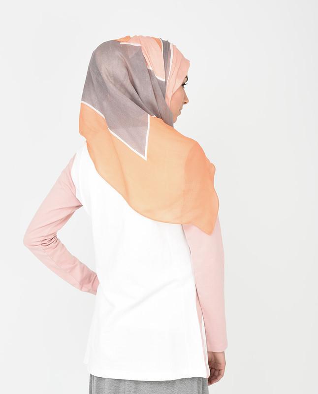 Peach Out Hijab