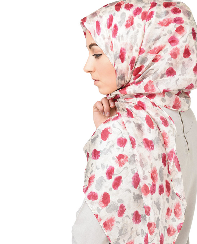 POP-py of Colour Silk Hijab