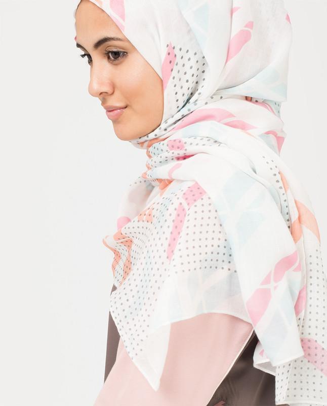 Cloud and Peach Hijab
