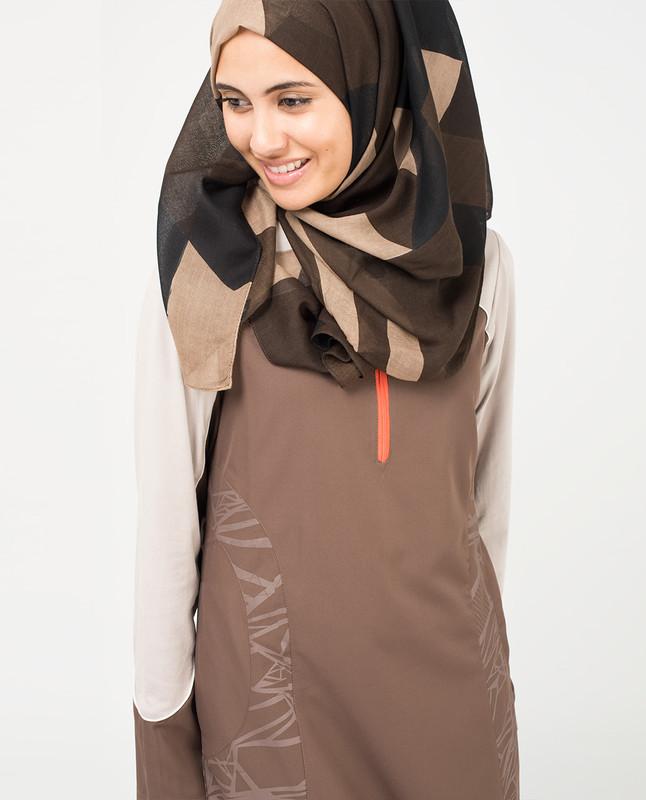 Shadow Grey Hijab