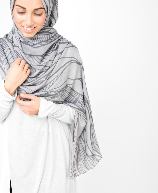 Smoked Pearl Hijab