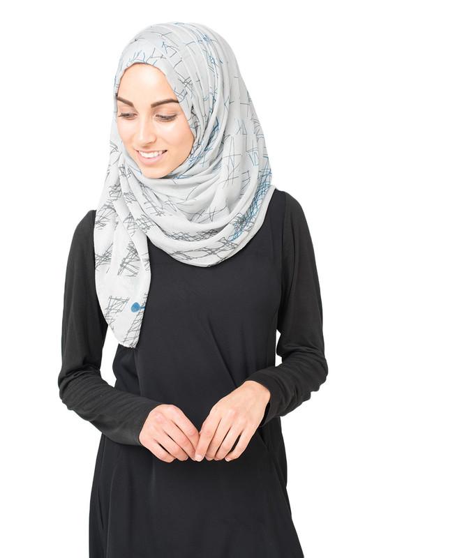 Lunar Rock Hijab
