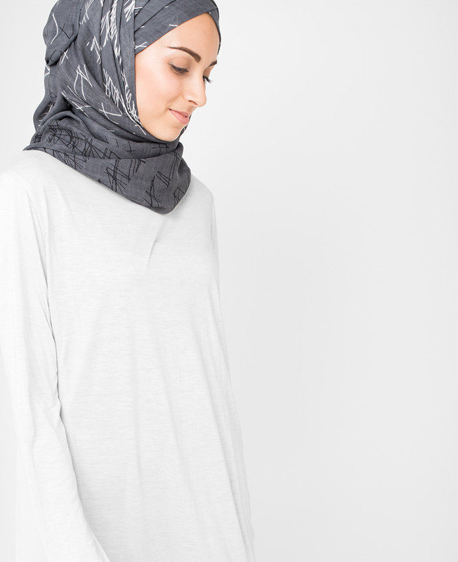 Steel Grey Hijab