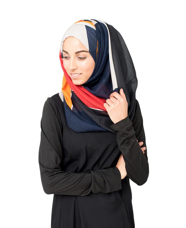 Windchime Grey Hijab