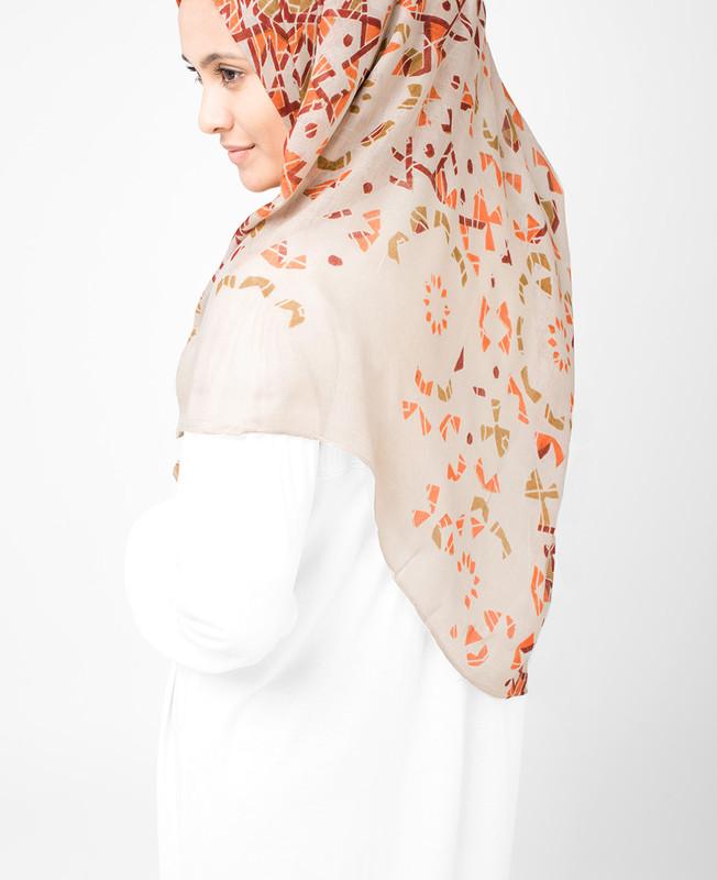 Bone Brown Hijab