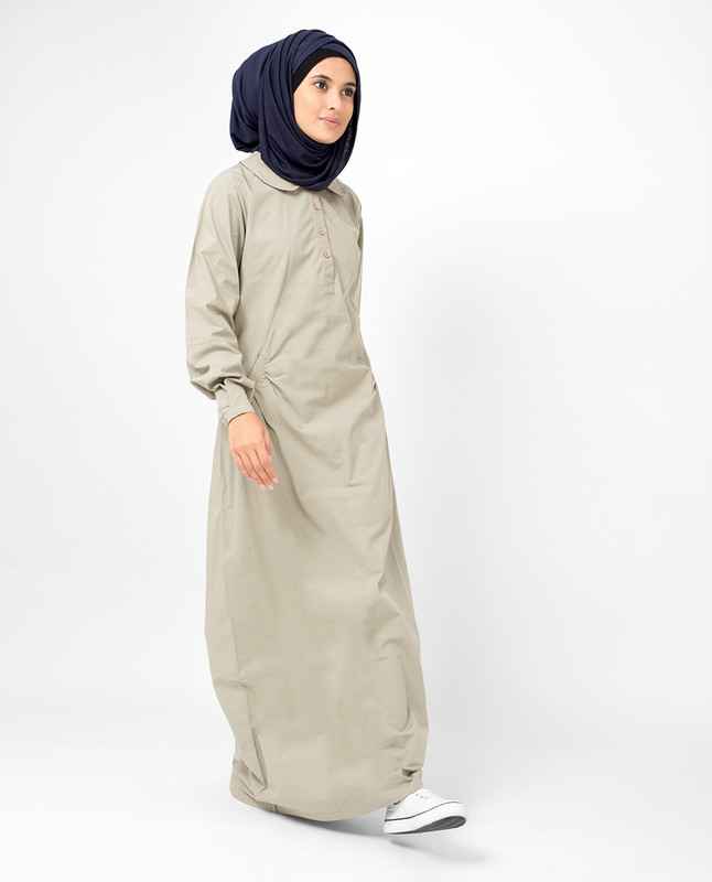 Silk Route Jilbab Beige Modest Long Dress
