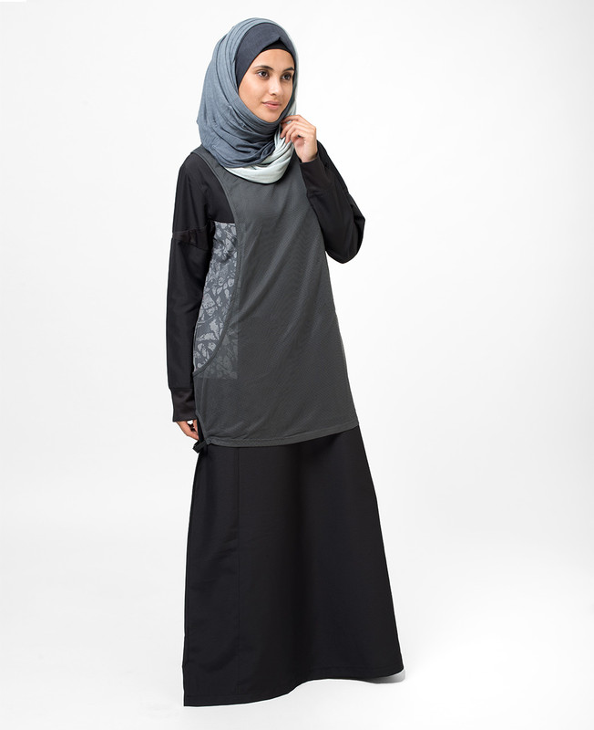 Dark Night Abaya