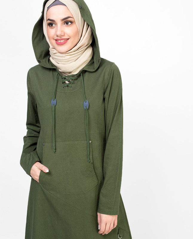 Military Green Jilbab