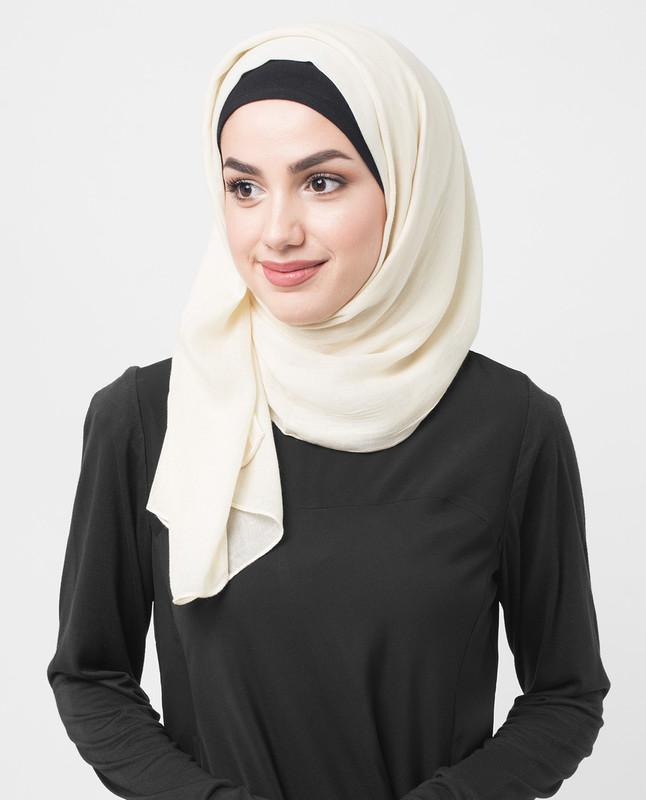 Creme Brulee Viscose Hijab