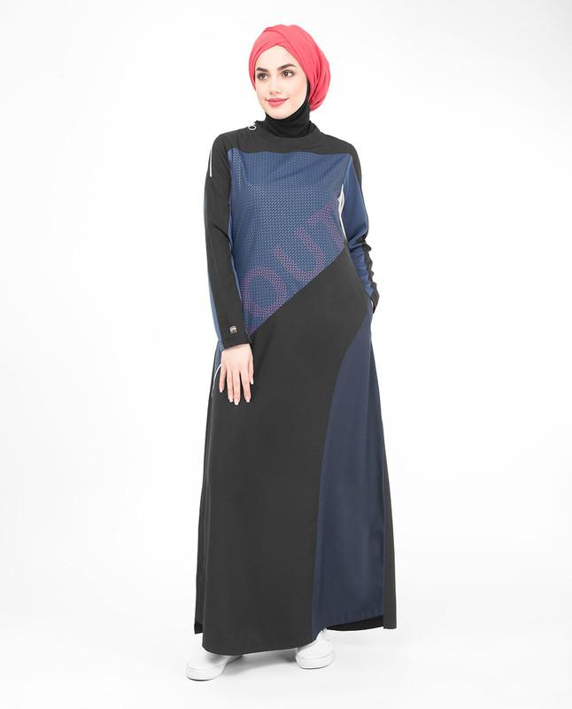 Asymmetric Sister Jilbab