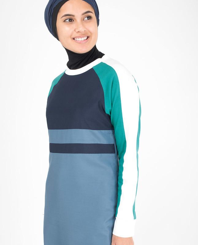Modest Teal Jilbab