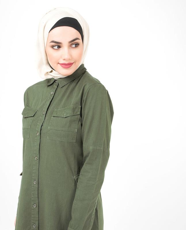 Olive Spring Jilbab