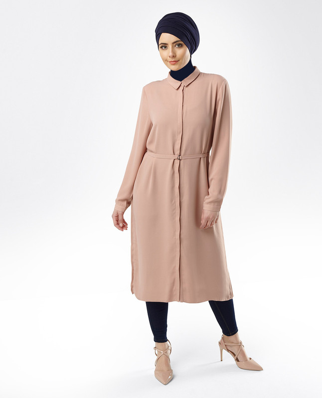 Sahar Blush Midi Dress