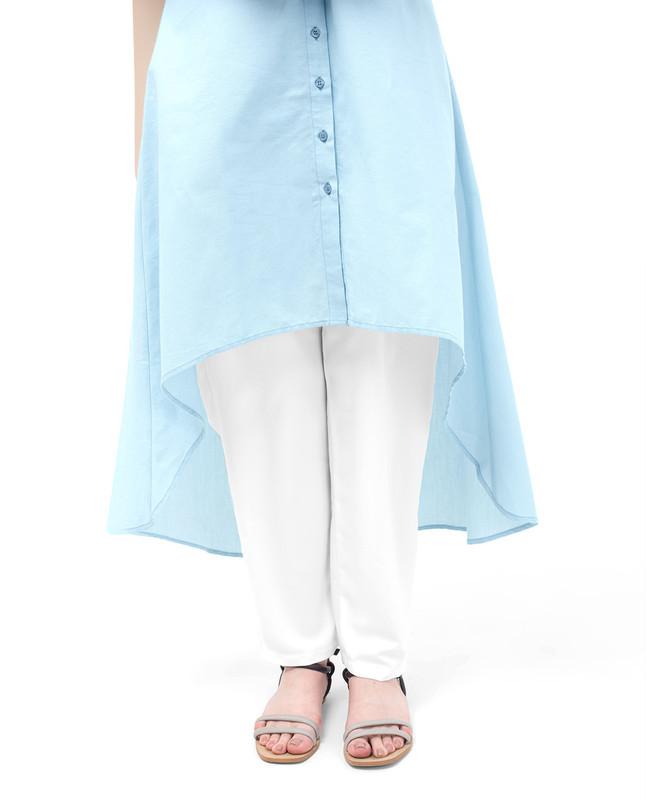 Dip Hem Shirt Dress