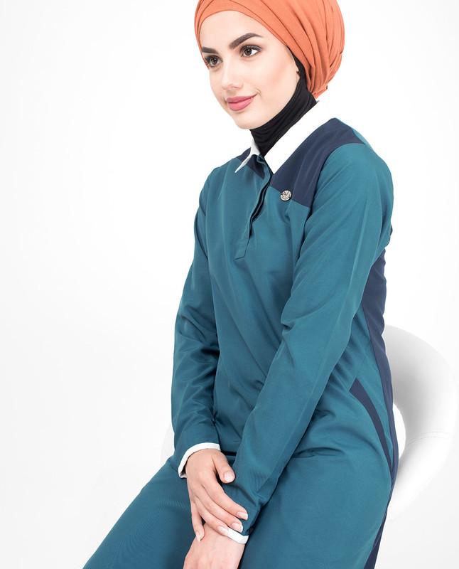 Blue Collar jilbab abaya
