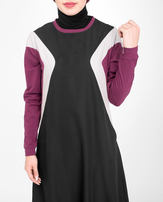 Side pockets jilbab abaya