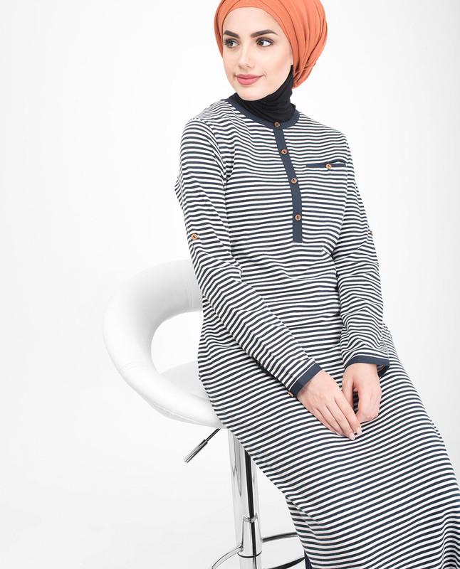 Striper Jilbab abaya